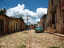 Trinidad, Cuba: Mecca of Cuban prosperity. Or it could be Detroit.