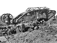 British Mark I Tank, Battle of the Somme, September 1916