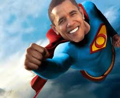It's a lame duck! It's a man without a brain! It's SuperObama!