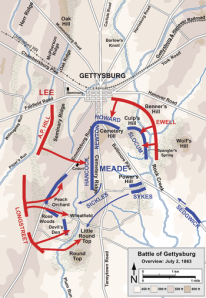Gettysburg - The Second Day (click image to enlarge)