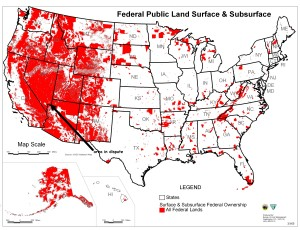 Map of all Federal lands (click image to enlarge)